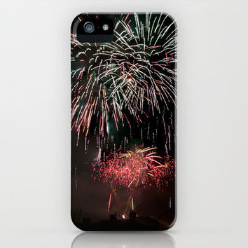 Fireworks 6 iPhone Case by Steve Purnell | Society6