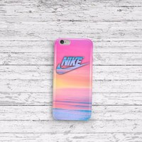 Nike Paradise Sky Pastel Beach iPhone 5 5c 6 6plus and Samsung Galaxy S5 Case
