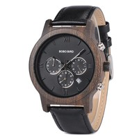BOBO BIRD P19 Wood Watch With Leather Band