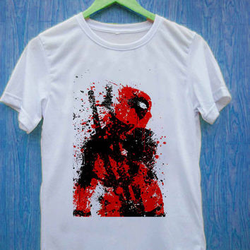 dead pool art T-shirt unisex, men and women
