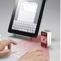 New! Magic Cube Laser Projection Virtual Bluetooth Keyboard for Ipad PDA Pc