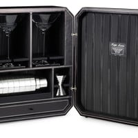 One Kings Lane - Celebrating 30 Years of Ralph Lauren Home - Cecilia Leather Bar Box