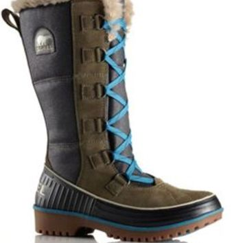 Sorel Tivoli High II Boots in Peatmoss for Women NL2094-213