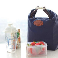 Portable Thermal Insulated Lunch Bag Lunch Box Storage Bag Women Kids Men Lady Carry picnic Food Tote Cooler Lunch Box
