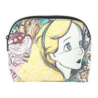 Loungefly Disney Alice In Wonderland Script Makeup Bag