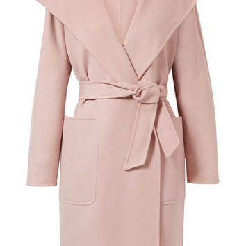 Max Mara - Hooded wool and cashmere-blend coat