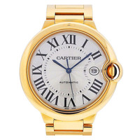 Cartier Yellow Gold Ballon Bleu Large Bracelet Watch