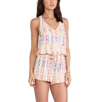 Eight Sixty Coachella Valley Romper in Pink