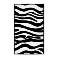 3'x5' Area Rug> Zebra Collection> KCavender Design
