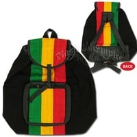 Rasta Striped Backpack @ RastaEmpire.com