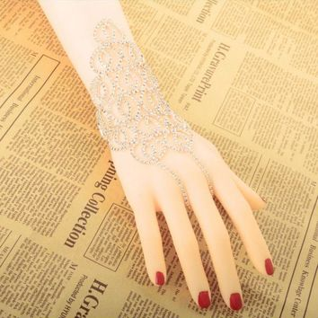 ONETOW New fashion mesh diamond bracelet