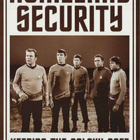 Star Trek Homeland Security Poster 24x36