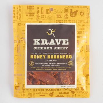 Krave Honey Habanero Chicken Jerky