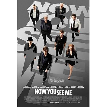 Now You See Me 27x40 Movie Poster (2013)