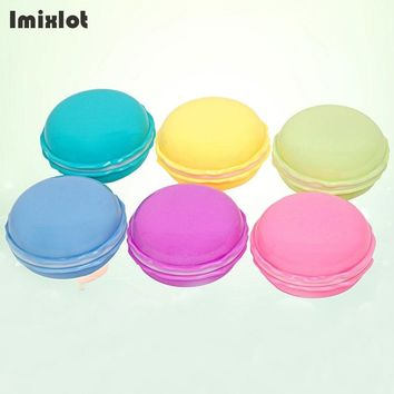 Imixlot Travel Classic Round Portable Glasses Box Plastic Contact Lens Case for Men and Women Container Holder Lenses Box
