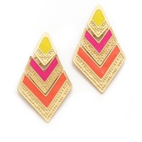 Adia Kibur Arrow Drop Earrings