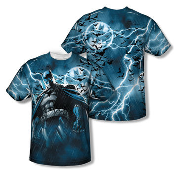 Batman Stormy Knight Sublimation Mens T-Shirt