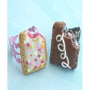 Pop Tarts Friendship Rings