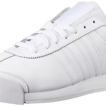 adidas Originals Men's Samoa Retro Sneaker White/White/Light Grey 7 D(M) US '