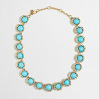 Factory stone semicircle necklace - Necklaces - FactoryWomen's Jewelry - J.Crew Factory