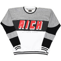 RICH TECH ATHLETIC CREW / BLACK MULTI - JOYRICH Store