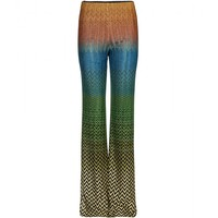 missoni - crochet-knit trousers