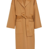 Oversize Belted Wool and Cashmere Coat | Moda Operandi