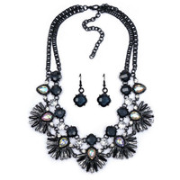 Penelope Statement Necklace w/ Earrings