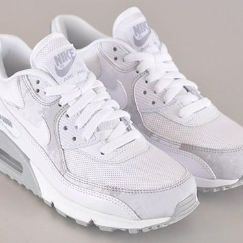 """Nike Air Max 90"" Women Sport Casual Cherry Blossoms Multicolor Air Cushion Sneakers Running Shoes"