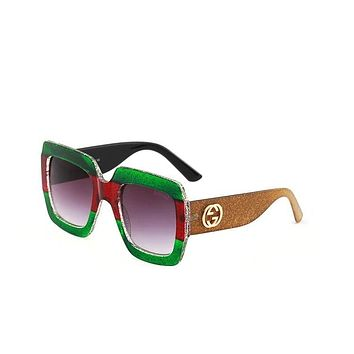 GUCCI stylish men and women sunglasses are popular sunglasses Black N-ANMYJ-BCYJ