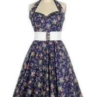 Pin Up Print Dresses
