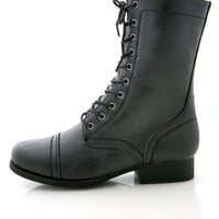 Roadie Combat Boots | Trendy Boots at Pink Ice