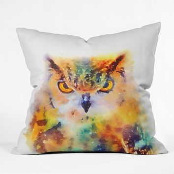 Jacqueline Maldonado The Wise Throw Pillow
