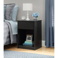 Walmart: Mainstays Nightstand/End Table, Multiple Colors