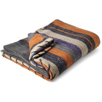 The Elder Statesman - Striped Cashmere Blanket | MR PORTER