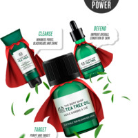 Blemish-Fighting Tea Tree Oil Skin Care Treatment | The Body Shop®