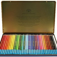 36 Fantasia Watercolor Drawing Pencils in Tin Storage Case!