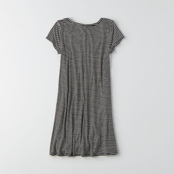 AEO Soft & Sexy T-Shirt Dress, Black