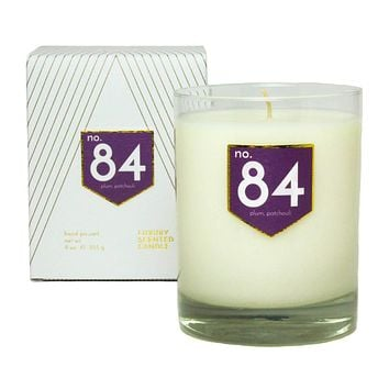 No. 84 Plum Patchouli Scented Soy Candle