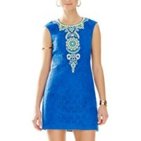 Valentia Embroidered Shift Dress - Lilly Pulitzer