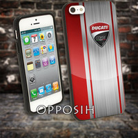 Ducati Corse Red Logo cover case for iPhone 4 4S 5 5C 5 5S 6 Plus Samsung Galaxy s3 s4 s5 Note 3 by opposih