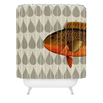 Natt Big Fish Shower Curtain