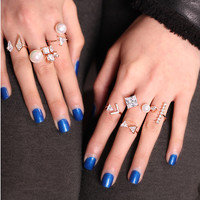 STACKABLE STATEMENT RINGS