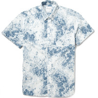 Saturdays Surf NYC - Esquina Printed Button-Down Collar Cotton-Poplin Shirt | MR PORTER