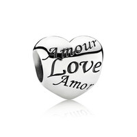 PANDORA Language of Love Charm