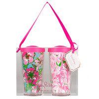 Lilly Pulitzer Insulated 16 oz Tumbler Set