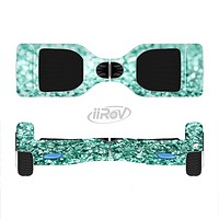 The Glimmer Green Full-Body Skin Set for the Smart Drifting SuperCharged iiRov HoverBoard