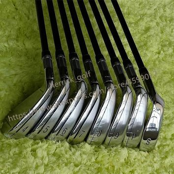M4 Golf Club Iron Set 4-9PS(8PCS) R/S Flex Steel/Graphite Shaft With Head Cover