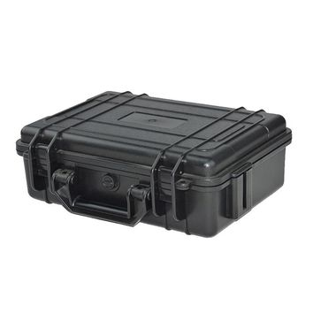 ABS Plastic Waterproof Dry Box Safety Equipment Case Portable Tools Outdoor Survival Vehicle Toolbox Anti-collision Container