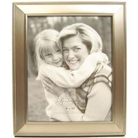 "8"" x 10"" Brushed Pewter Frame with Dotted Edge 